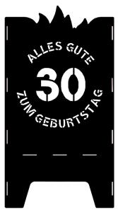 Beispielmotiv 30. Geburtstag