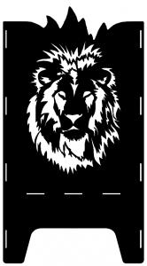 Beispielmotiv Löwenkopf